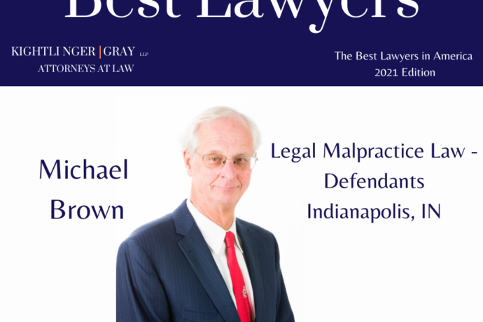 Michael Brown Named to The Best Lawyers in America List