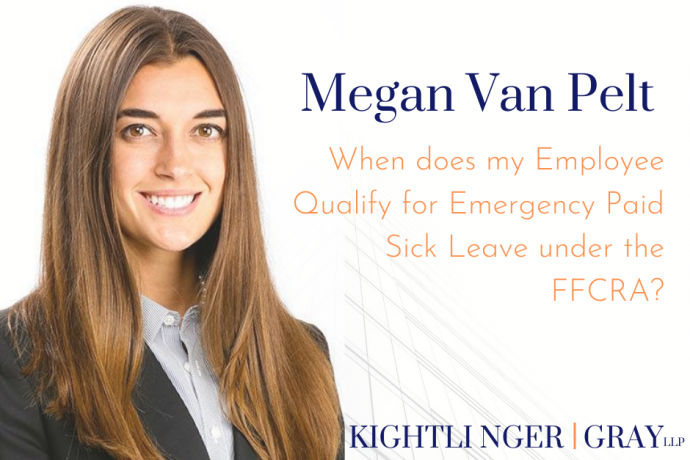 When does my Employee Qualify for Emergency Paid Sick Leave under the FFCRA?